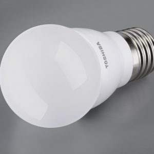 Żarówka LED TOSHIBA 40W/5,5W kulka E27 mat