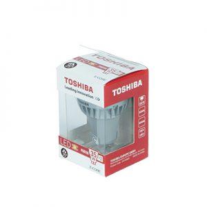 Żarówka LED GU10 TOSHIBA 35W/3,5W 25° 3000K
