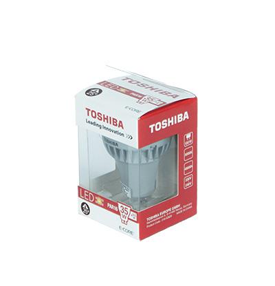 Żarówka Gu10 Led Toshiba 35W/3,5W 25° 2700K zdjęcie numer 3